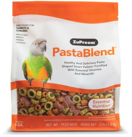 ZuPreem PastaBlend Bird Food for Parrots and Conures alternate img #1