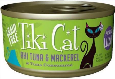 Tiki Cat Ahi Tuna & Mackerel Cat Food alternate img #1