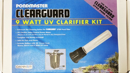 Pondmaster Clearguard Filter UV Clarifier Kit alternate img #1