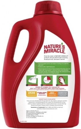 Natures Miracle Cat Advanced Stain and Odor Eliminator alternate img #2
