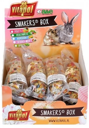 A&E Cage Company Smakers Fruit Sticks for Small Animals alternate img #1