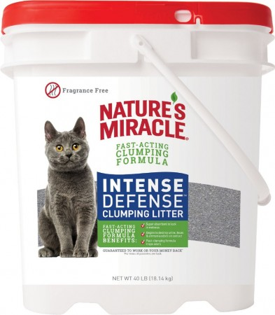 Natures Miracle Intense Defense Fragrance-Free Clumping Cat Litter alternate img #1