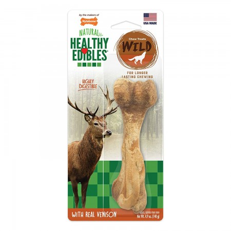 Nylabone Healthy Edibles Wild Chew with Real Venison - Large alternate img #1