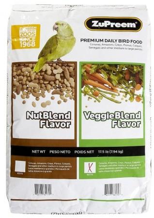 ZuPreem VeggieBlend Flavor Bird Food for Large Birds alternate img #1