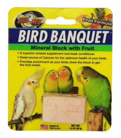 Zoo Med Bird Banquet Block Fruit Formula Small alternate img #1