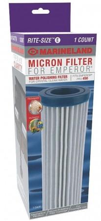 Marineland Micron Filter for Emperor Rite-Size E Emperor Pro 450 alternate img #1