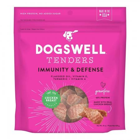 Dogswell Tenders Immunity & Defense Dog Treats - Chicken alternate img #1