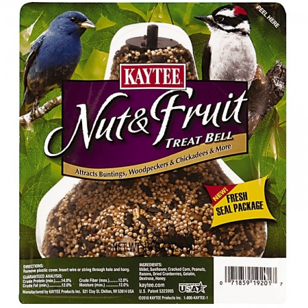 Kaytee Nut & Fruit Treat Bell for Wild Birds alternate img #1