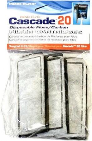 Cascade 20 Power Filter Replacement Carbon Filter Cartridges alternate img #1