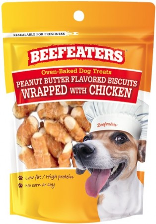 Beafeaters Oven Baked Peanut Butter with Chicken Biscuit for Dogs alternate img #1