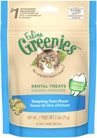 Greenies Feline Dental Treats -Tempting Tuna Flavor alternate img #1