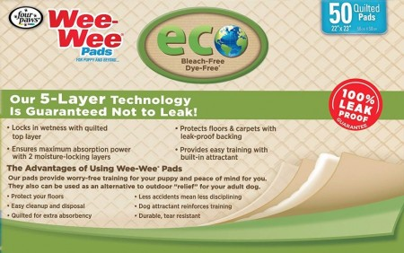 Four Paws Wee Wee Pads Eco Pee Pads for Dogs alternate img #3