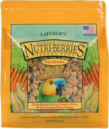 Lafeber Garden Veggie Nutri-Berries - Parrot Food alternate img #1