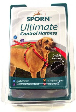 Sporn Ultimate Control Harness for Dogs - Black alternate img #1
