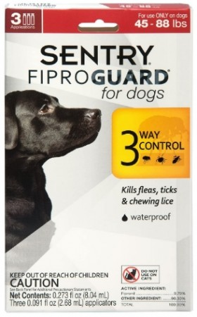 Sentry FiproGuard for Dogs - Large alternate img #1