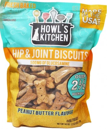 Howls Kitchen Hip and Joint Biscuits Peanut Butter alternate img #1