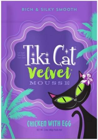 Tiki Cat Velvet Mousse Chicken With Egg Cat Food alternate img #1