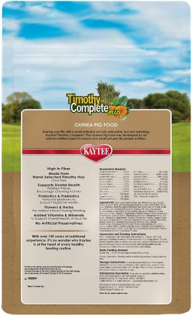 Kaytee Timothy Complete Guinea Pig Food Plus Flowers & Herbs alternate img #2