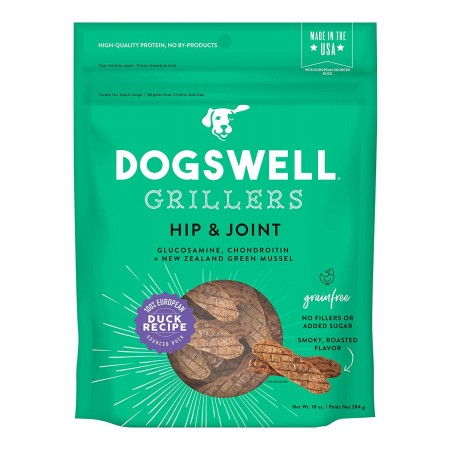 Dogswell Grillers Hip & Joint Dog Treats - Duck alternate img #1