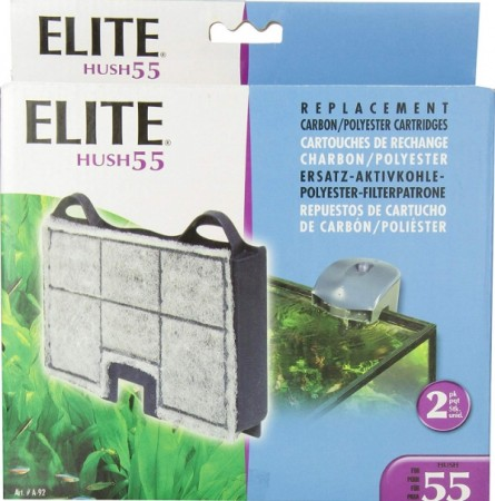 Elite Hush 55 Replacement Carbon / Polyester Cartridges alternate img #1