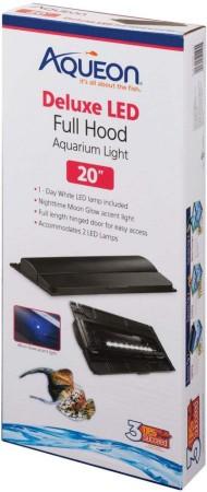 Aqueon Deluxe LED Full Hood for Aquariums alternate img #1