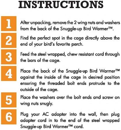 K&H Pet Snuggle Up Bird Warmer alternate img #6