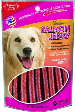 Carolina Prime Real Salmon Jerky Sticks alternate img #1