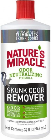 Natures Miracle Skunk Odor Remover alternate img #1