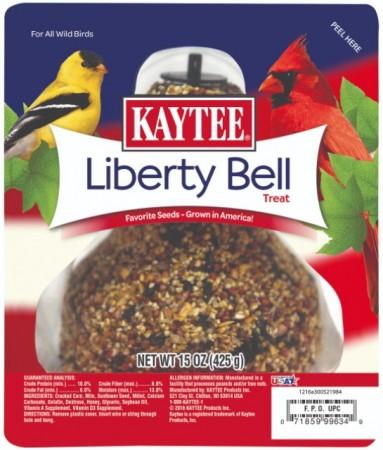 Kaytee Liberty Bell Wild Bird Treat with Favorite Seeds Grown In America For Wild Birds  alternate img #1
