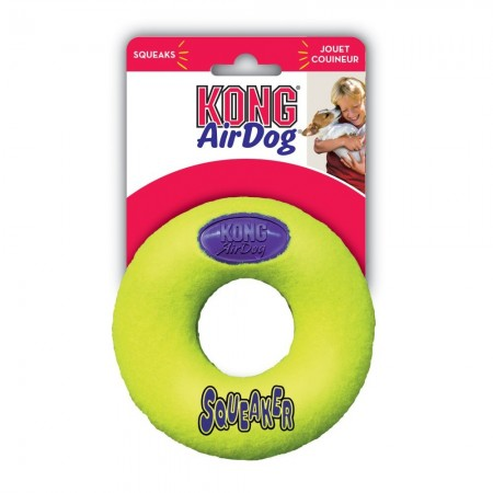 KONG Air Dog Donut Squeaker Dog Toy alternate img #1