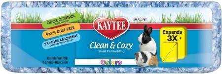 Kaytee Clean & Cozy Colors Small Pet Bedding - Blue alternate img #1