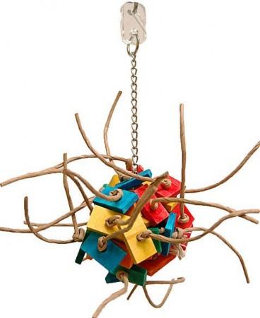 Zoo-Max Fire Ball Bird Toy alternate img #1