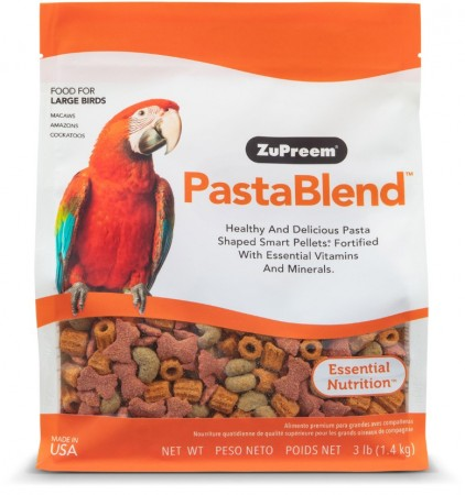ZuPreem PastaBlend Bird Food for Large Birds alternate img #1