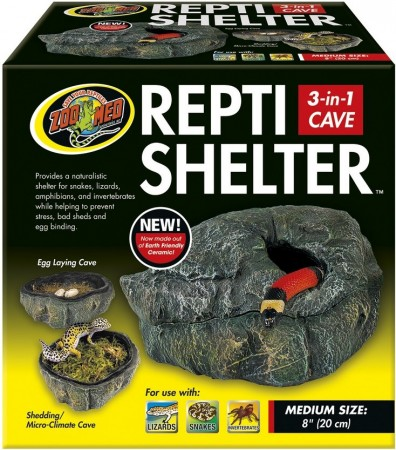 Zoo Med Repti Shelter 3 in 1 Cave alternate img #1
