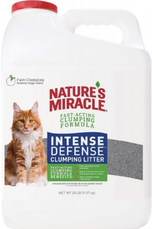 Natures Miracle Intense Defense Clumping Litter alternate img #2