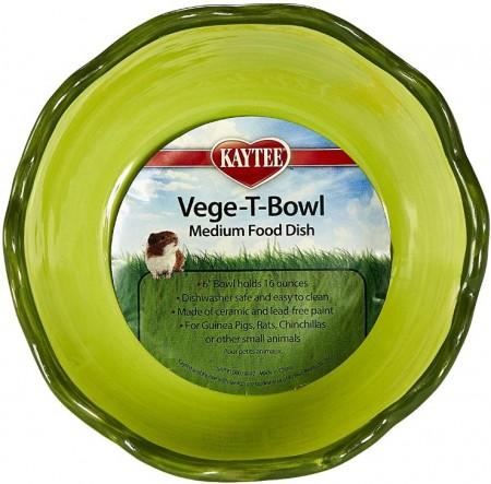 Kaytee Vege-T-Bowl Cabbage Medium Food Dish alternate img #1