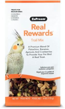 ZuPreem Real Rewards Trail Mix For Medium Birds alternate img #1