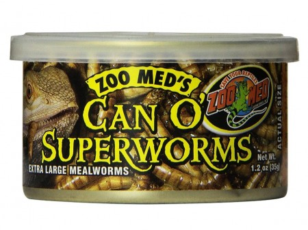 Zoo Med Can O Superworms alternate img #1