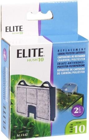 Elite Hush 10 Replacement Carbon / Polyester Cartridges alternate img #1