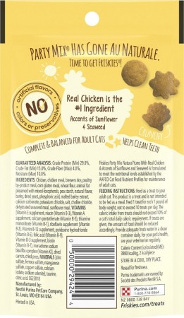 Friskies Party Mix Cat Treats Natural Yums with Real Chicken alternate img #2