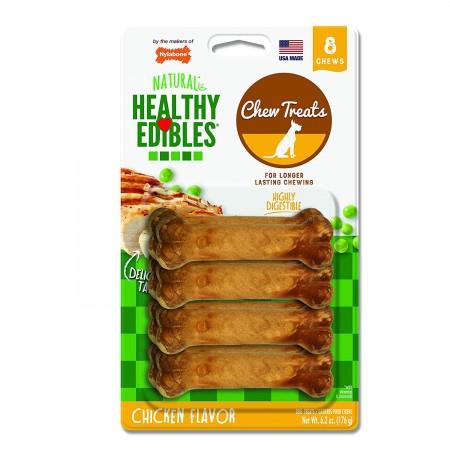 Nylabone Healthy Edibles Chews - Chicken - Petite alternate img #1