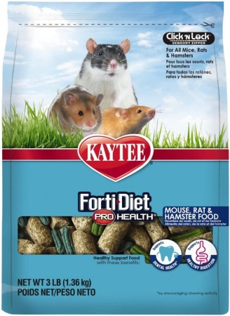 Kaytee Forti Diet Pro Health Healthy Support Diet Mouse, Rat and Hamster Food alternate img #1