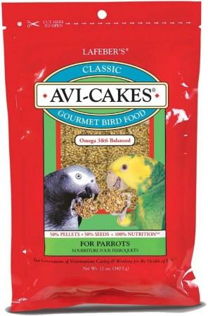 Lafeber Classic Avi-Cakes - Gourmet Parrot Food alternate img #1