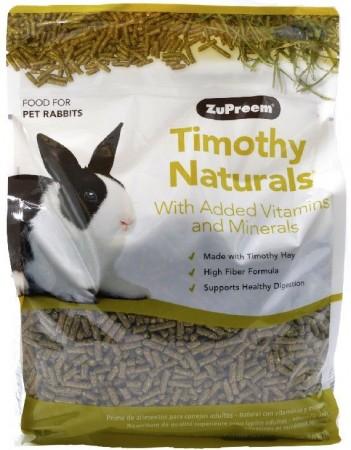 ZuPreem  Timothy Naturals Rabbit Food alternate img #1