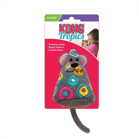 KONG Tropics Mouse Cat Toy alternate img #1
