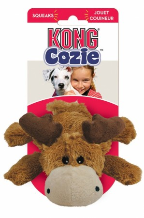 KONG Cozie Marvin the Moose Dog Toy alternate img #1