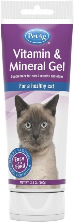 PetAg Vitamin & Mineral Gel for Cats alternate img #1