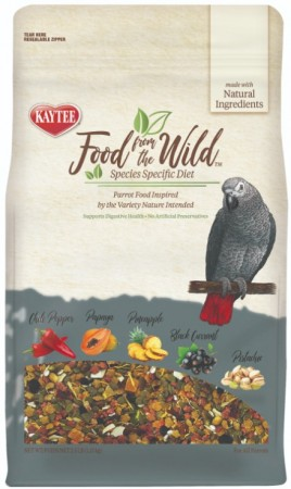 Kaytee Food From The Wild Parrot Food For Digestive Health  alternate img #1