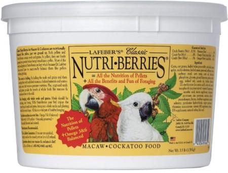 Lafeber Classic Nutri-Berries Macaw & Cockatoo Food alternate img #1