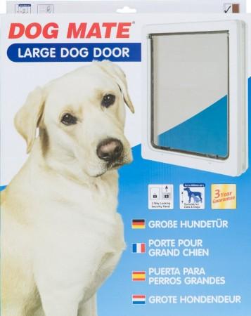 Dog Mate Dog Door White alternate img #1